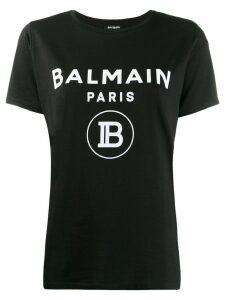 Balmain stamped logo T-shirt - Black