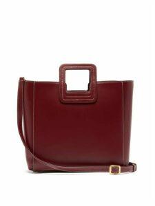 Staud - Shirley Small Leather Bag - Womens - Dark Red