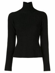 Carolina Herrera ribbed high-neck sweater - Black