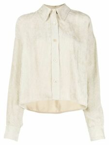 Isabel Marant cord boxy-fit shirt - White