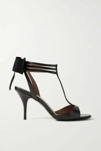 Tabitha Simmons - Dipsi Bow-embellished Leather Sandals - Black