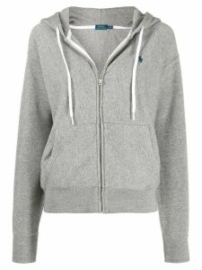 Polo Ralph Lauren zipped hoodie - Grey