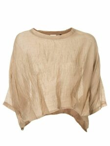 Taylor sheer stride blouse - Yellow