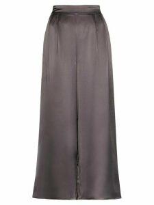 Le Kasha high-rise wide-leg trousers - Grey