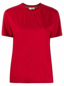 Fendi FF sleeve panel T-shirt - Red