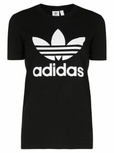 adidas Originals Trefoil logo T-shirt - Black