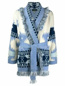 Alanui knitted cardigan - Blue