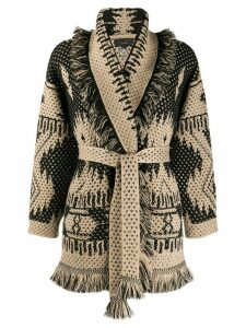 Alanui knitted cardigan - NEUTRALS
