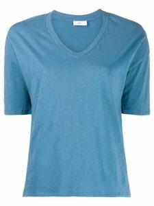 Closed basic v-neck T-shirt - Blue