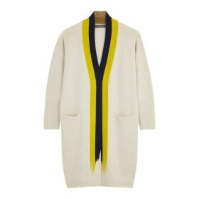 Hawico Pelago Off-white Cashmere Cardigan