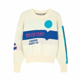 Isabel Marant Étoile Kleden Logo Cotton-blend Jumper