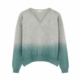 Stella McCartney Dégradé Cashmere-blend Jumper