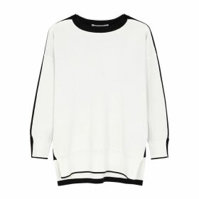 Stella McCartney Monchrome Stretch-knit Jumper