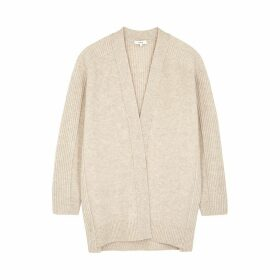 Vince Cream Wool-blend Cardigan