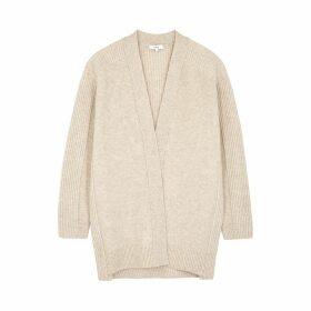 Vince Cream Wool-blend Cardigan
