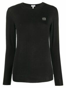 Loewe crew neck jumper - Black