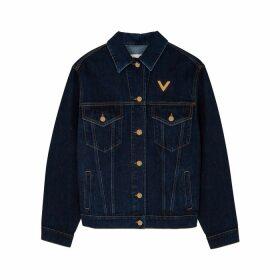 Valentino Dark Blue Denim Jacket
