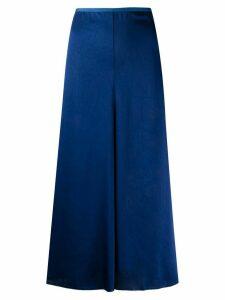 Forte Forte high waisted midi skirt - Blue