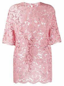 Valentino lace t-shirt - PINK