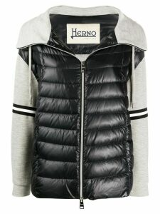Herno padded hybrid jacket - Grey