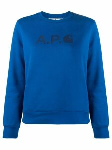 A.P.C. Interaction #5 Carhatt WIP sweater - Blue