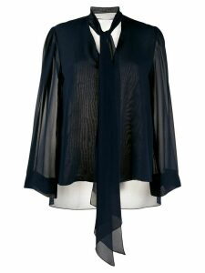 Chloé Lavallière silk blouse - Blue