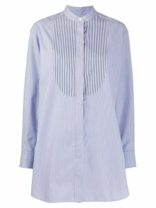 Rokh striped oversized shirt - Blue