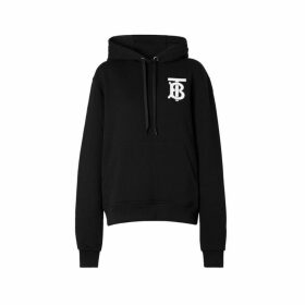 Burberry Monogram Motif Cotton Hoodie