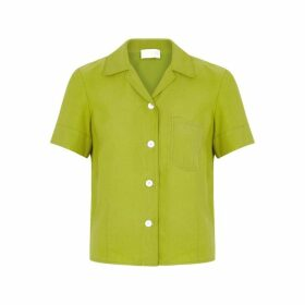 LOROD Green Brushed Twill Shirt