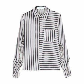 Roland Mouret Padley Striped Shirt