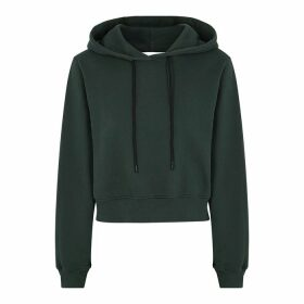 Cotton Citizen Milan Grey Hooded Cotton Sweatshirt
