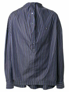 Y/Project draped striped shirt - Multicolour