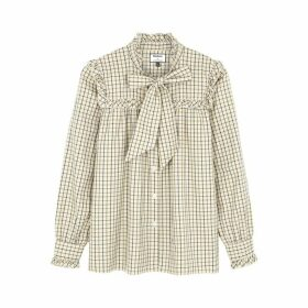 Barbour X Alexa Chung Bella Checked Cotton Shirt