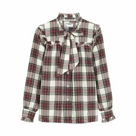 Barbour By ALEXACHUNG Bella Checked Cotton Shirt