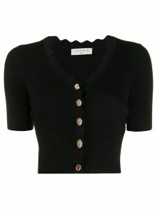 Sandro Paris cropped cardigan - Black