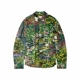 Natasha Zinko Floral-print Cotton Shirt