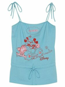 Gucci x Disney print tank top - Blue