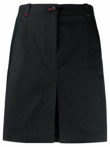 Tommy Hilfiger contrast stitched skirt - Blue