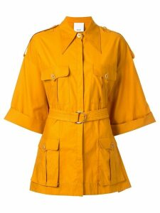 Acler Esther shirt - Yellow