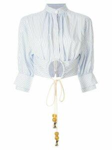 Acler Lipton shirt - Blue