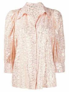 Stella McCartney abstract print blouse - PINK