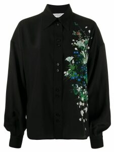 Givenchy floral detail blouse - Black