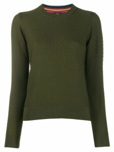 PS Paul Smith waffle knit jumper - Green