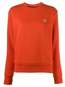 PS Paul Smith zebra patch jumper - ORANGE