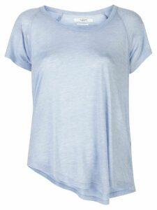 Isabel Marant Étoile asymmetric hem T-shirt - Blue