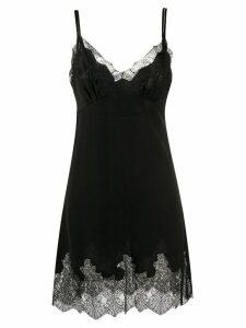 Ermanno Scervino lace shift dress - Black
