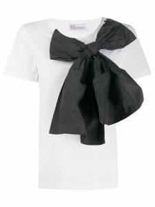 RedValentino bow detail T-shirt - White