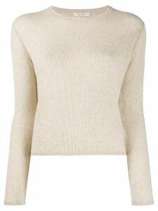The Row crew neck cashmere jumper - NEUTRALS