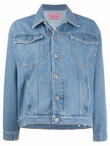 Chiara Ferragni Logomania denim jacket - Blue