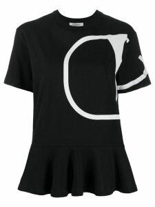 Valentino oversized VLOGO T-shirt - Black